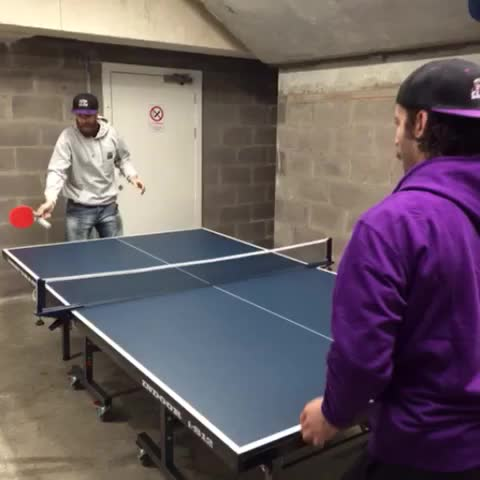VINE: @railer22 and @harpoon26 play some table tennis, thanks to @BraeheadClanOSC for the table! #Glasgow #JointheClan - Braehead Clans post on Vine
