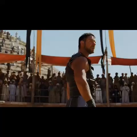 "Vine by Best Movie Scenes - ""Are you not entertained?"" #Gladiator #bestmoviescenes"