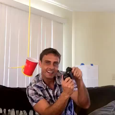 Chris Fabregass post on Vine - The laziest babysitter ever! - Chris Fabregass post on Vine