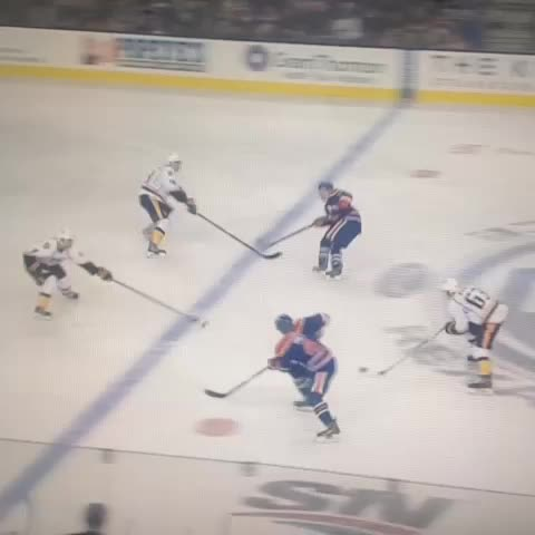 JayGold85s post on Vine - Ryan Ellis levels former Spitfire teammate Taylor Hall. Beauty! - JayGold85s post on Vine
