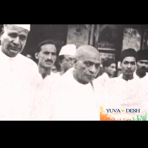 INC Indias post on Vine - हिन्दू हो, मुसलमान हो, सिख हो, पारसी हो, ईसाई हो - सबको यही समझना चाहिए की यही हमारा मुल्क है - #SardarPatel #IronLeadersofINC - INC Indias post on Vine