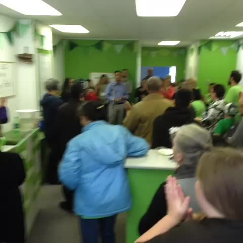 Matthew Green campaign office launch party #hamont #ward3 - Chris Healeys post on Vine