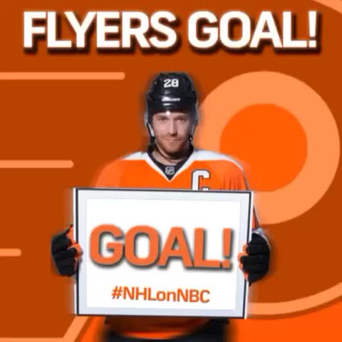 That didnt take long. The @NHLFlyers go up 4-2 after another 3rd period goal! #RivalryNight - NHL on NBC Sportss post on Vine