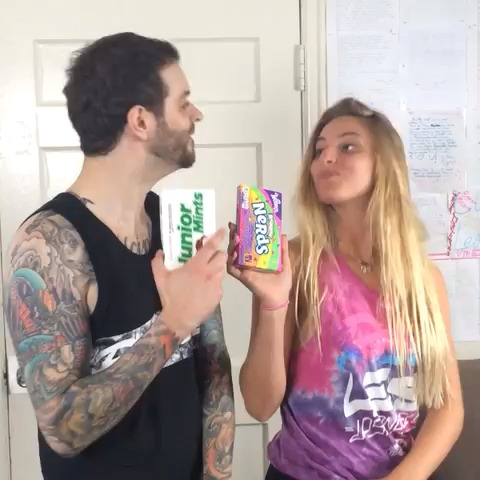 Curtis Lepores post on Vine - Vine by Curtis Lepore - Going to the movies like... w/ Lele Pons 🍬🍭#snacks #theyllneverknow @curtislepore