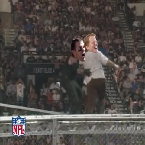 Vine by Youtube.com/TheEpicality2 - Tom Brady vs Roger Goodell