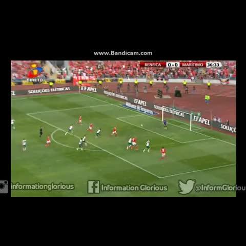 Vine by Information Glorious - Benfica - 1-0, golo de Jonas. #Benfica #Final #TaçadaLiga