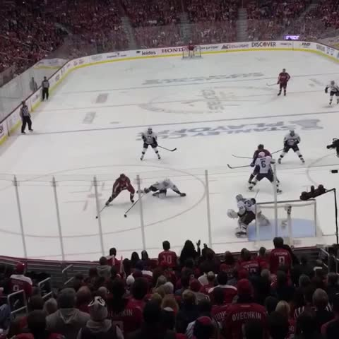 Vine by Washington Capitals - The Game Winner. All. The. Feels. #CapsPens #RockTheRed