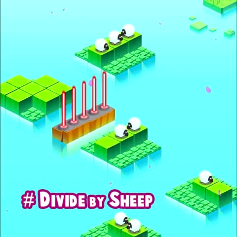 Vine by tinyBuildGAMES - Divide By Sheep - A Math Puzzle Game About Slicing Sheep in Half With Lasers #DivideBySheep #iOS #Steam http://DivideBySheep.com