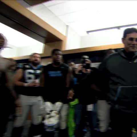 Vine by Carolina Panthers - #DabOnThemCoach!