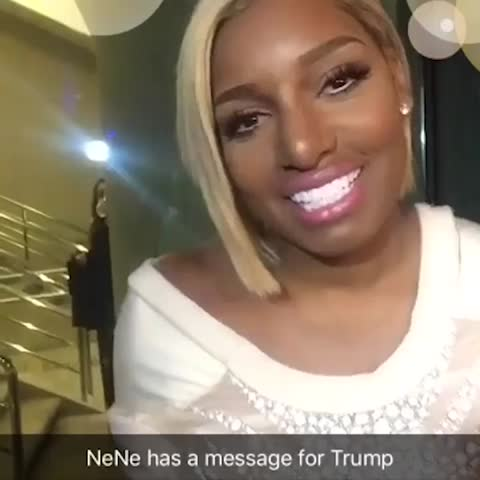 Vine by The Hill - NeNe Leakes has a message for the Donald. #TheHillWHCD
