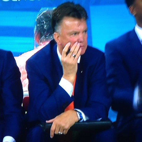 MCFC Worlds post on Vine - Louis Van Gaal finds out that United will have to play City twice next season:                                  #mcfc #mufc #ned #arg - MCFC Worlds post on Vine