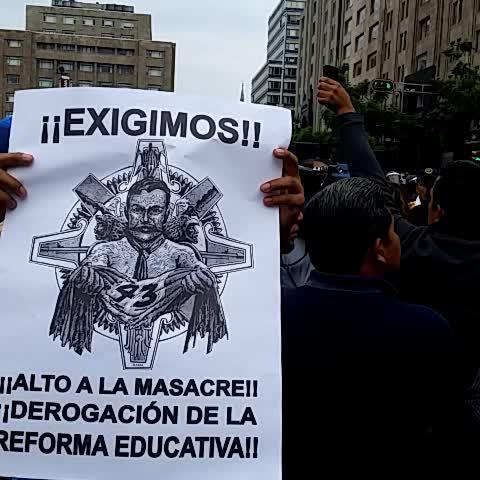 Vine by Coordinadora1DMX - Mancera Gbno en minoría desviando recursos d CDMX a favor d Nuño violando derecho a manifestación CNTE
