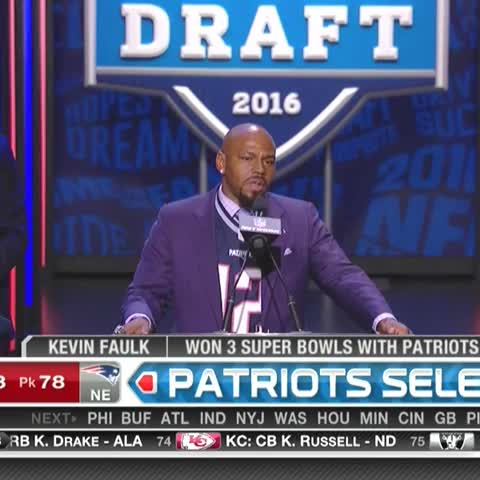 Kevin Faulk threw shade at the NFL by wearing Tom Brady's jersey ...