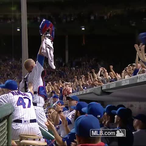 Vine by Chicago Cubs - Thank you, David Ross!