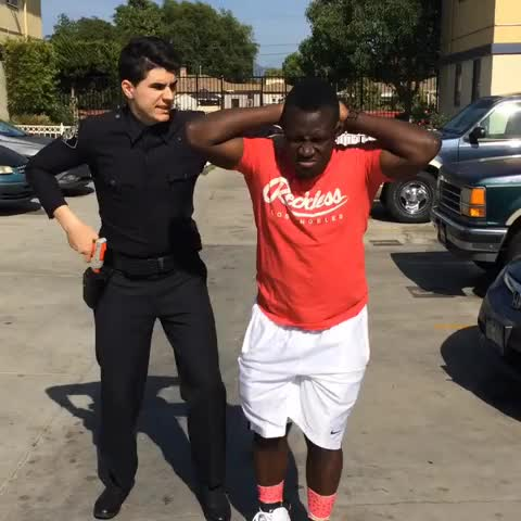 Officer! Dont scuff the Jays! W/ Christian DelGrosso - Jerry Purpdranks post on Vine