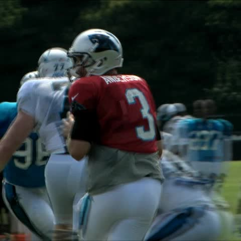 Vine by Carolina Panthers - Kelvin doing what he does best. #PanthersCamp