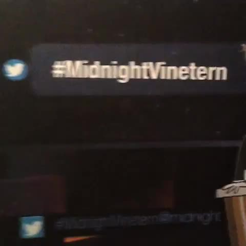 Entry 2: Mike Bennett Whichever gets the most re-vines between now & 11:59 & 59 seconds on Thursday will be the 1st ever #midnightvinetern! - Midnights post on Vine