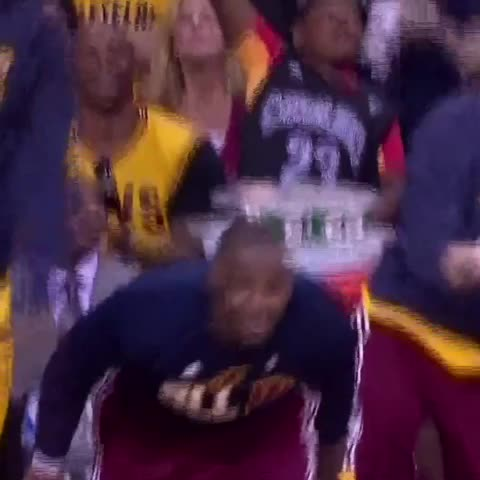Vine by NBA on TNT - That feeling when youre heading to the Finals...