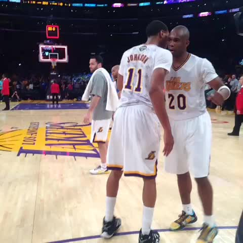 Jodie Meeks drops 42 points in Lakers Win. - Lakerss post on Vine