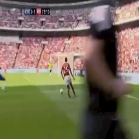That one time when Chicharito assisted himself. - Chest-Bumps post on Vine