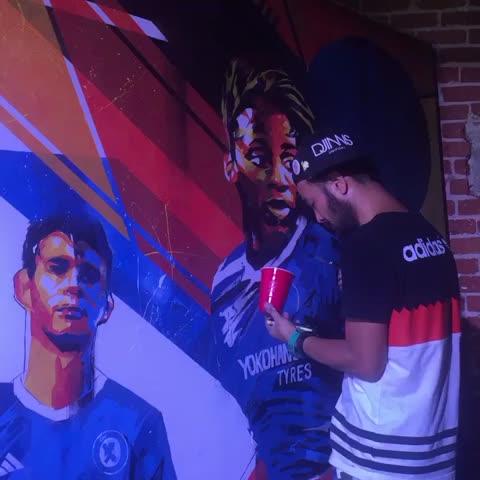 Vine by Chelsea FC - Chelsea murals!