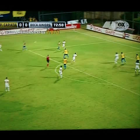 Boca Juniorss post on Vine - ¡GOOOOOL DE #BOCA! #Calleri Capiatá 0 Boca 1. - Boca Juniorss post on Vine