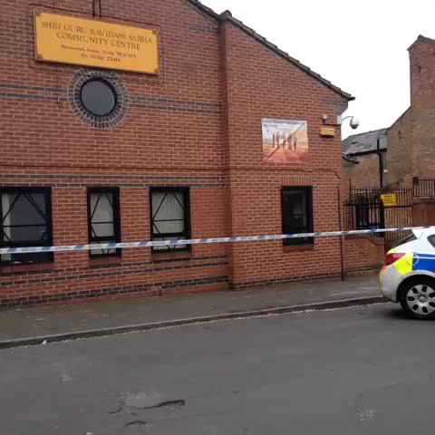 Police cordon at junction with Brunswick St and Walbrook Road in Normanton. - Jenni Hulses post on Vine