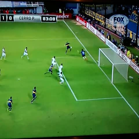 Boca Juniorss post on Vine - ¡GOOOOOOOL DE BOCA! - Boca Juniorss post on Vine