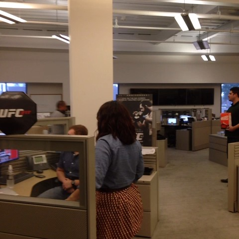 UFCs post on Vine - Here at the UFC HQ.... Were ready for January 31, 2015! #SilvaVSDiaz - UFCs post on Vine