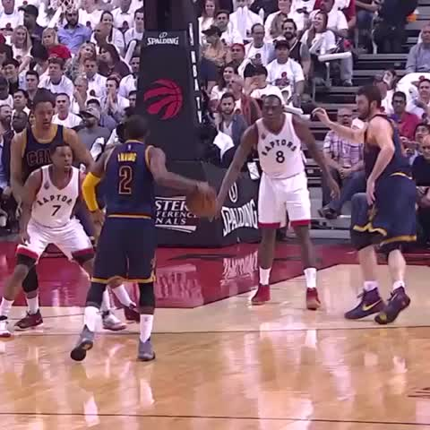 Vine by NBA - LeBron levitates for the bucket #NBAMotion