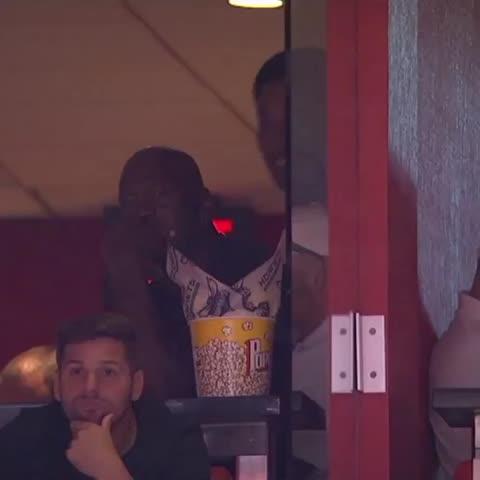 Vine by The NBA on ESPN - Hey buddy.