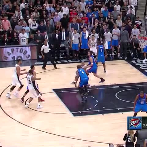 Vine by San Antonio Spurs - Seriously though... this TP assist 😍