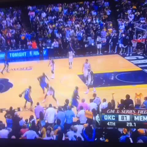 And 1 from three for Westbrook. - RealGMs post on Vine
