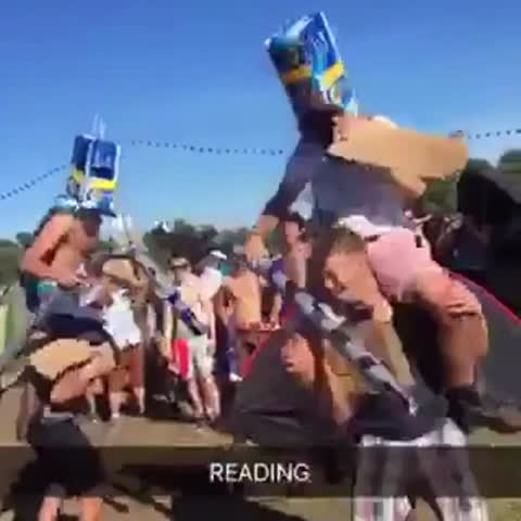 Vine by The LAD Bible - Human jousting