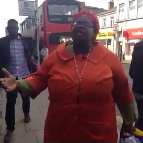 Vine by Kay. - African woman is at it again 😂