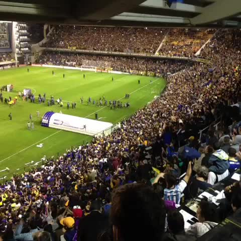 Boca Juniorss post on Vine - Los jugadores se meten al vestuario con la ovación de toda la Bombonera. - Boca Juniorss post on Vine