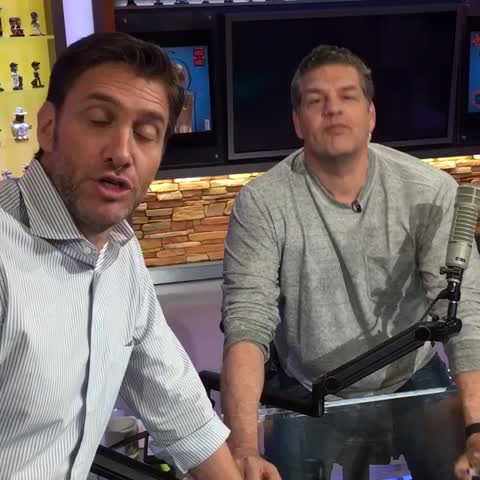 Vine by Mike & Mike - Come with us to the NBA Finals.