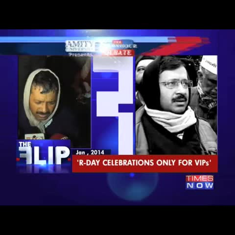 Vine by TIMES NOW - AAP leader Ashutosh questions after Kiran Bedi was invited for Republic Day parade, and not Kejriwal. #RDayControversy