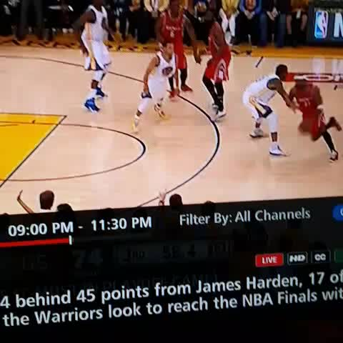 Vine by PerSources.com - We gonna sit here and act like Jason Terry didnt break Steph Currys ankles?