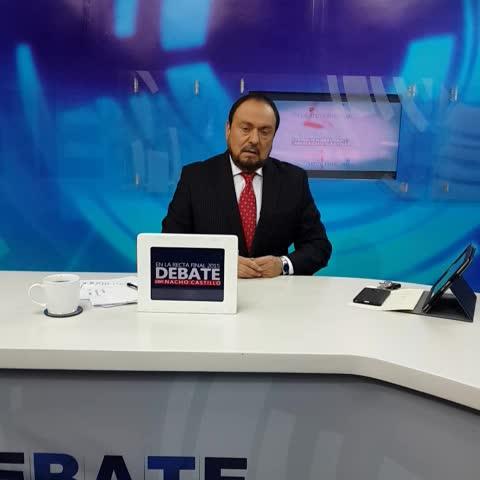 Vine by Debate con Nacho - Este lunes debaten @WILLSALGADO y @Miguelpereirasv, Cara a Cara por San Miguel, en @DebateconNacho