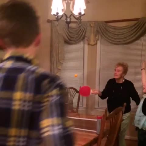 Vine by nico - grandma loves ping pong.