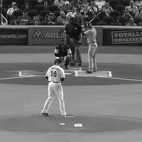 Vine by Best of Baseball HD - Jose Fernandez makes a unbelievable catch to rod Tulo. #bestofbaseballhd