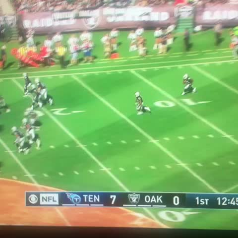 Vine by Nick Hjeltness - Jalen Richard making something happen the first time he touches the ball. #Raiders