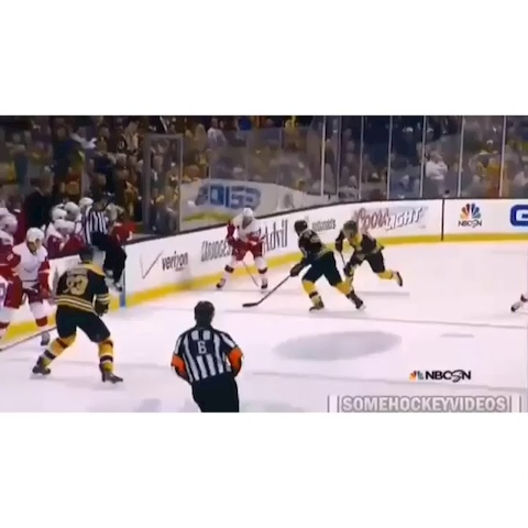 Datsyuk goes between the legs then scores a beauty against the Bruins.... - Hockey Viness post on Vine