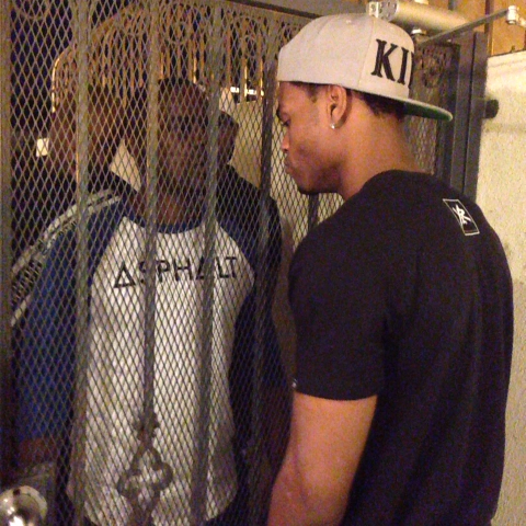 "KingBachs post on Vine - ""You lucky this gate holding me back!"" w/ Klarity, Pagekennedy, Alphonso McAuley #KingBach - KingBachs post on Vine"