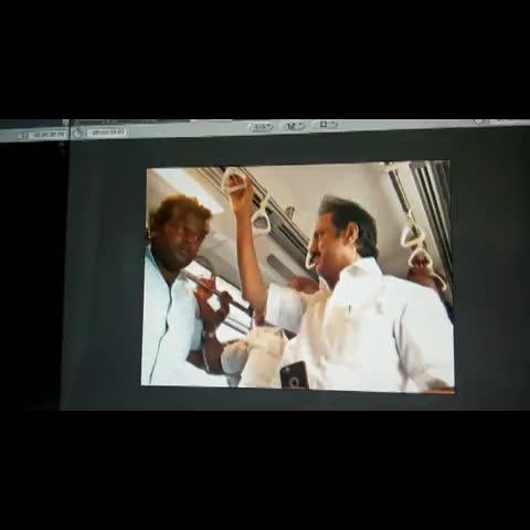 Vine by TIMES NOW - DMK leader MK Stalin slaps a passenger on Chennai metro, Jaya slams Stalins goondaism #EndVVIPRacism