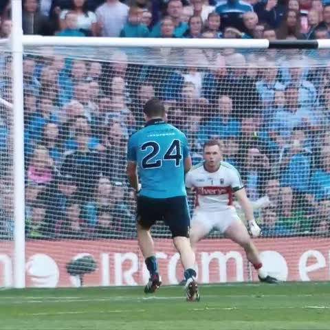 Vine by officialgaa - Who remembers this Kevin McManamon goal for #Dublin vs #Mayo in the All-Ireland Semi-Final replay