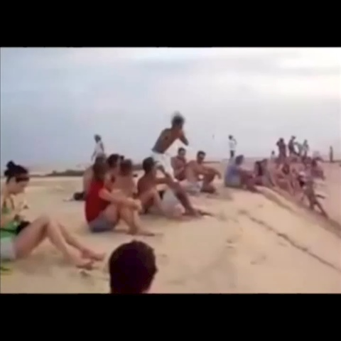 SPORTS FILMs post on Vine - Vine by SPORTS FILM - This guy is CRAZY!!! Flipping down this steep of a hill on sand?!?!?