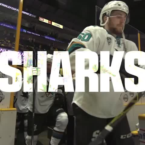Vine by San Jose Sharks - Game Three. Game on.