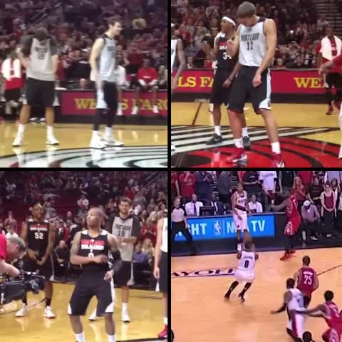 Vine by Pinwheel Empire - DOCTOR RECOMMENDED VIDEO FOR BLAZER FANS WHO ARE ALSO DUCK FANS TO MAKE A QUICK RECOVERY AFTER LAST NIGHT #ripcity
